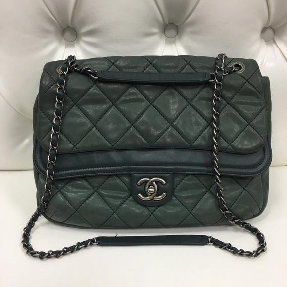 d2833cbfd744 CHANEL Bags | Crossbody Bag Beautiful Pearl Green Color | Poshmark